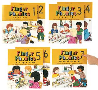 Jolly Learning Finger Phonics Book 7 ONLY