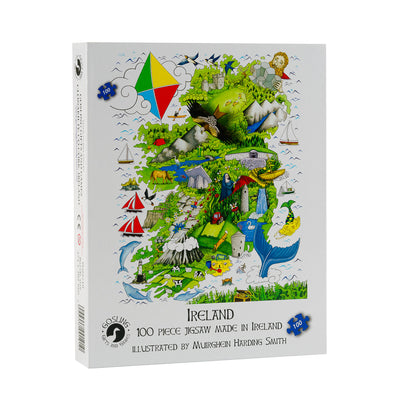 Junior Ireland Puzzle 100 Piece Puzzle