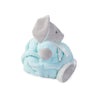 KALOO PLUME RABBIT AQUA - MEDIUM