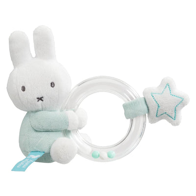 Miffy Mint Ring Rattle