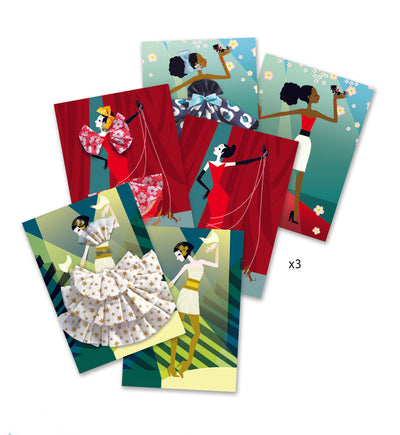 Djeco Frilly Cards: So Paris (7-13Yrs)
