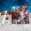 The Elf on the shelf:  ELF PETS A SAINT BERNARD TRADITION