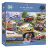 Gibsons ICONIC ENGINES, 1000 PIECE JIGSAW PUZZLE