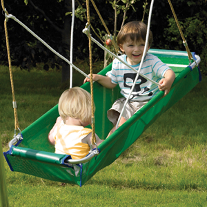 TP Toys Knightswood Double Swing Frame (Build Your Frame)
