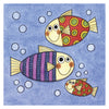 Head in the Clouds Print: Three Fishes