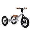 TRYBIKE 2-IN-1 STEEL TRIKE & BALANCE BIKE (SILVER)