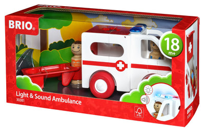 BRIO My Home Town: Light and Sound Ambulance