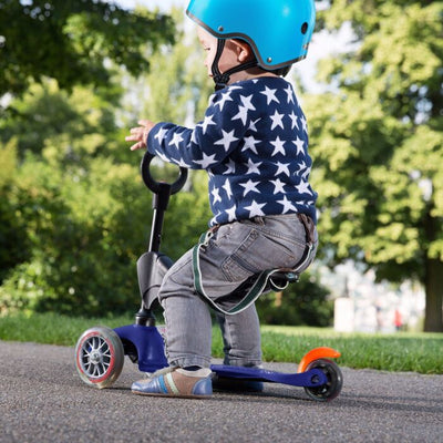 Mini Micro 3in1 Classic Scooter (Blue)