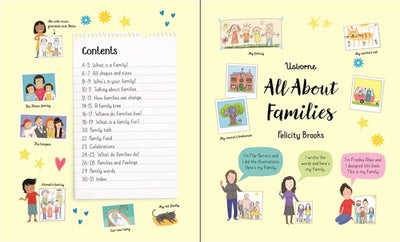 Usborne: All About Families