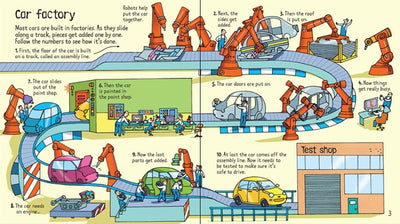 Usborne: Look inside cars