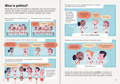 Usborne: Politics For Beginners