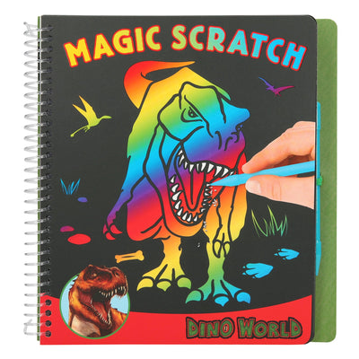 Depesche Dino World Magic Scratch Book