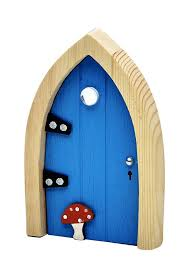 Irish Fairy Door (Blue Arched)
