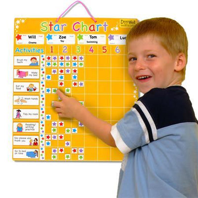 Large Magnetic Reward Star Chart