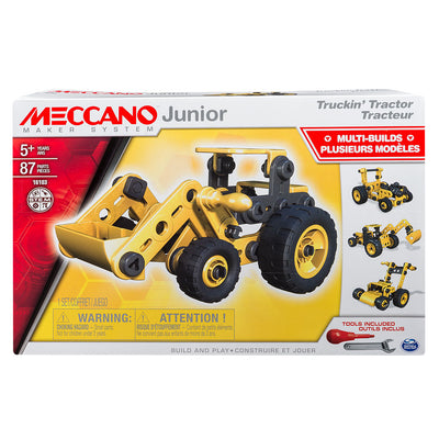 Meccano Junior - Truckin' Tractor, 4 Model Set