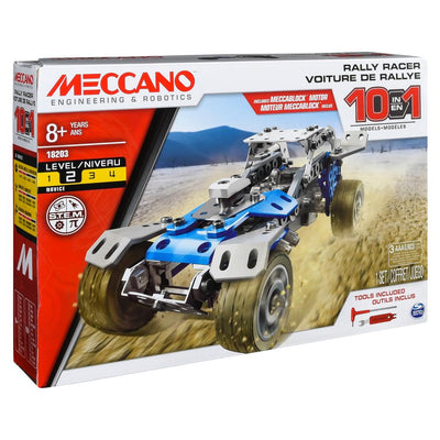 Meccano 10-in-1 Rally Racer