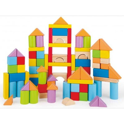 Hape 101 Piece Wonderful Beech Blocks
