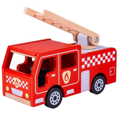 Bigjigs Toys City Fire Engine