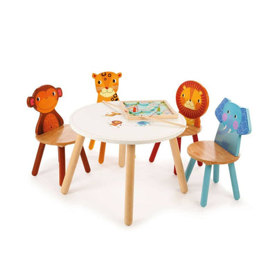 Tidlo Jungle Animal Table