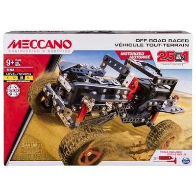 Meccano 25 Models Set - Off-Road Racer