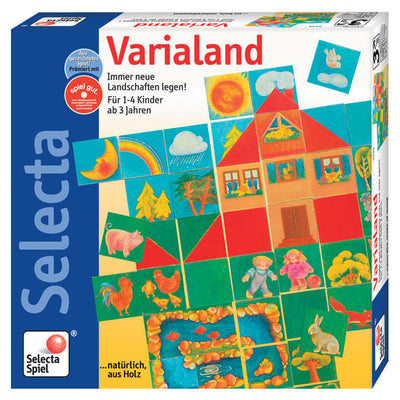 Selecta Spielzeug Varialand Puzzle Game