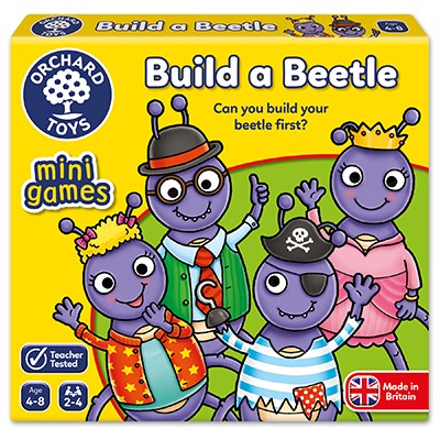 Orchard Toys Mini Game: Build a Beetle