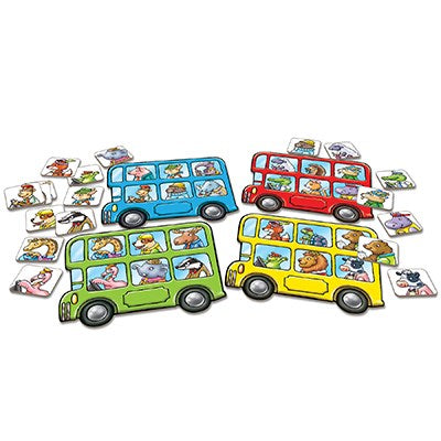 Orchard Toys Mini Game: Little Bus Lotto
