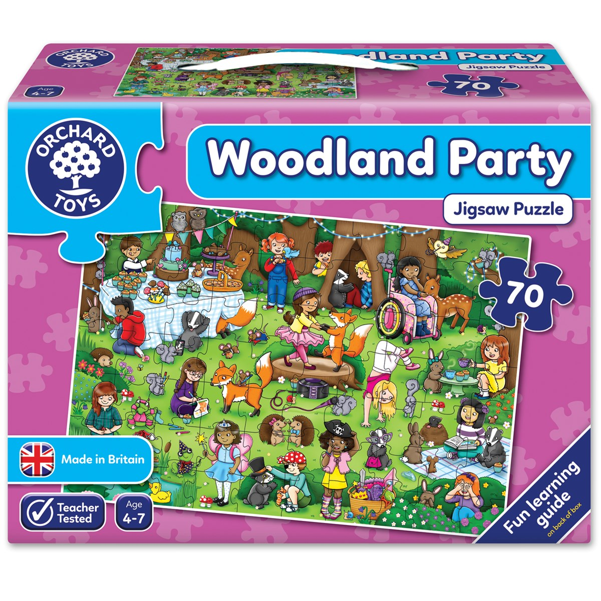 Orchard toys woodland party jigsaw puzzle nimble fingers gumiabroncs