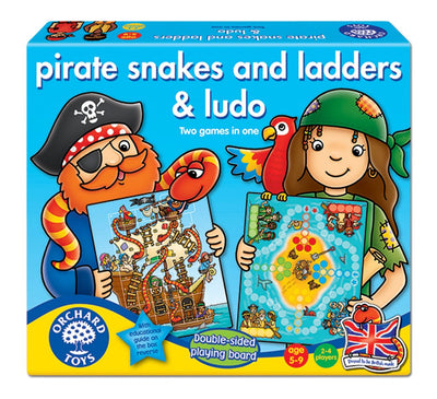 Orchard Pirate Snakes & Ladders and Ludo Board Game