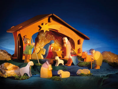 Ostheimer Nativity Assortment 13 pcs