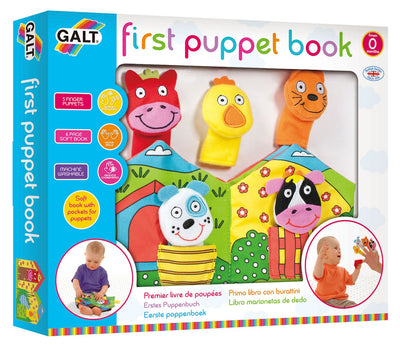 Galt First Puppet Book