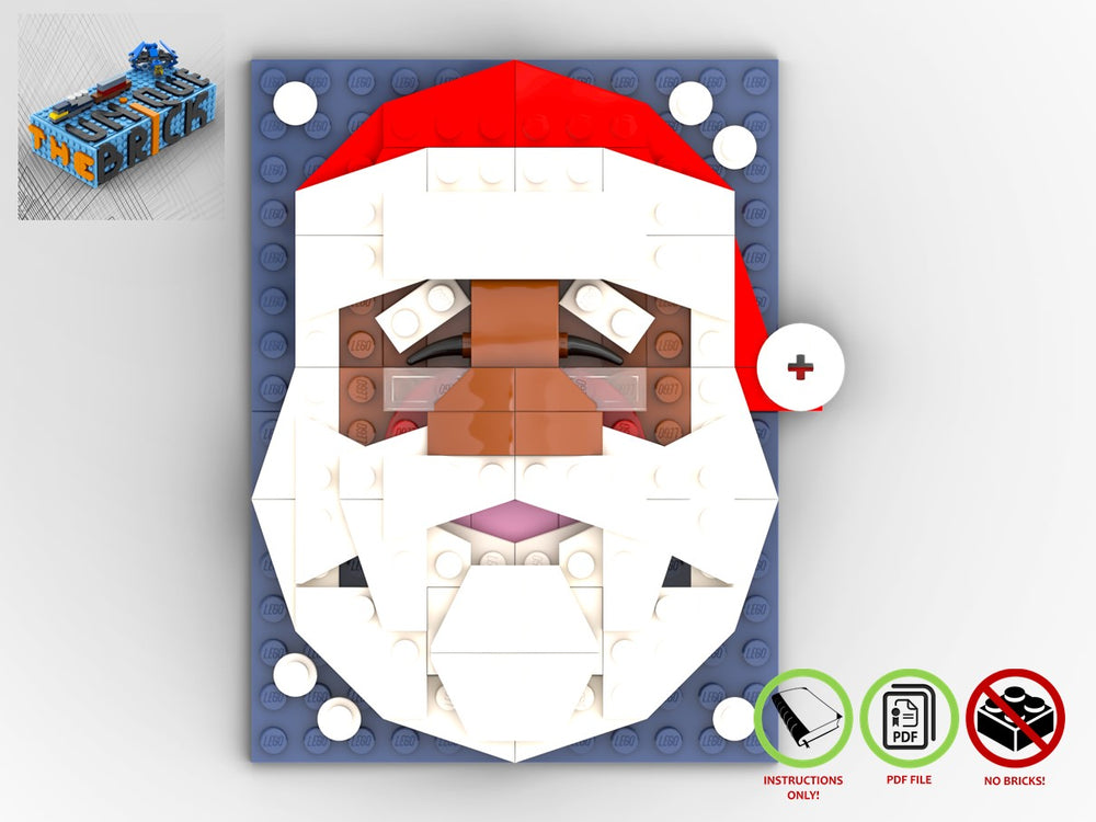 Load image into Gallery viewer, Santa's Portrait