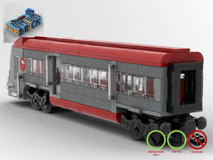 Load image into Gallery viewer, LEGO-MOC - Brick Folk Express Train - The Unique Brick