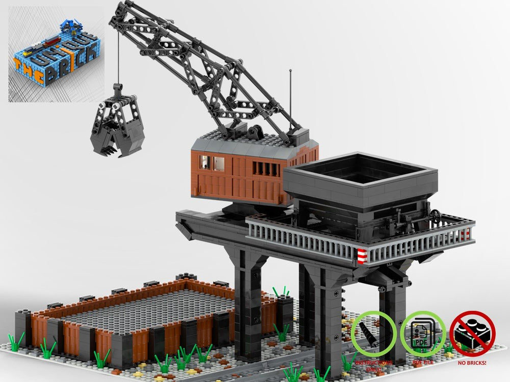 LEGO-MOC - Coal Loader - The Unique Brick
