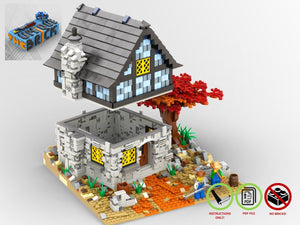 Load image into Gallery viewer, LEGO-MOC - Country House - The Unique Brick
