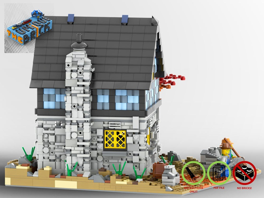 LEGO-MOC - Country House - The Unique Brick