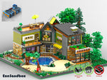 LEGO-MOC - Forestside House - The Unique Brick