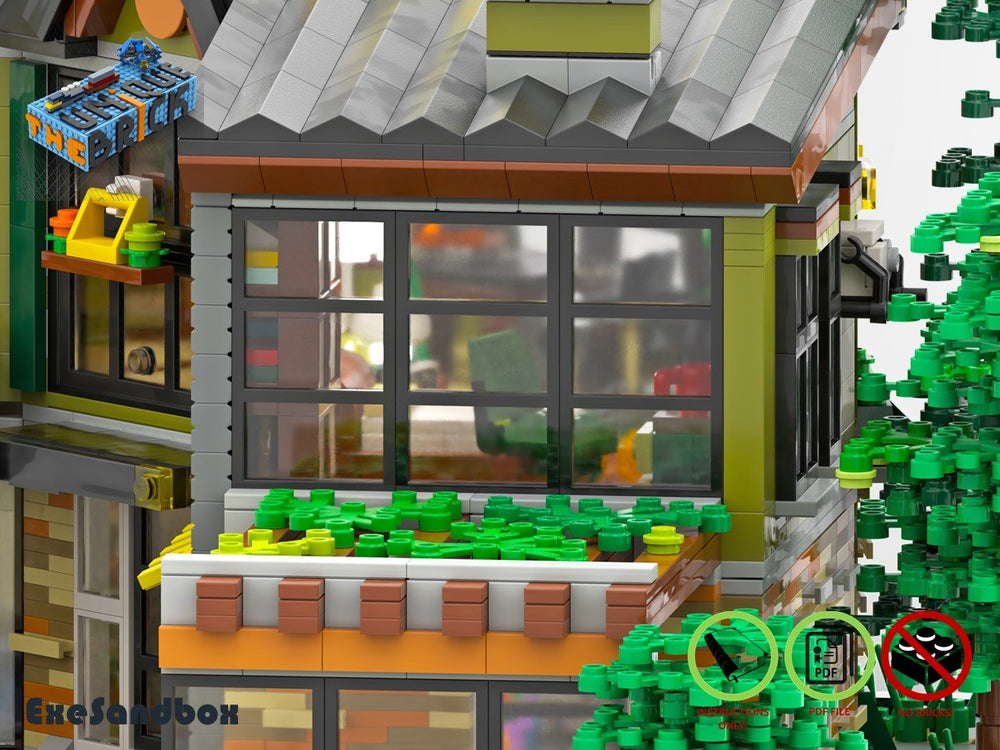 Load image into Gallery viewer, LEGO-MOC - Forestside House - The Unique Brick