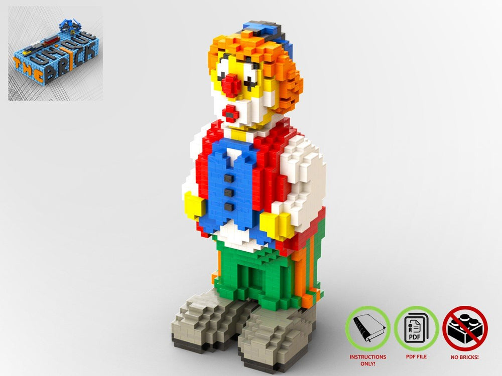 LEGO-MOC - Just a Clown - The Unique Brick