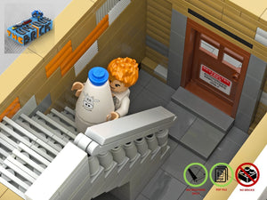Load image into Gallery viewer, LEGO-MOC - Modular Chocolate Factory 'Brickolate' - The