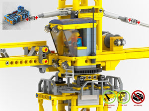 Load image into Gallery viewer, LEGO-MOC - Modular Construction Site - The Unique Brick