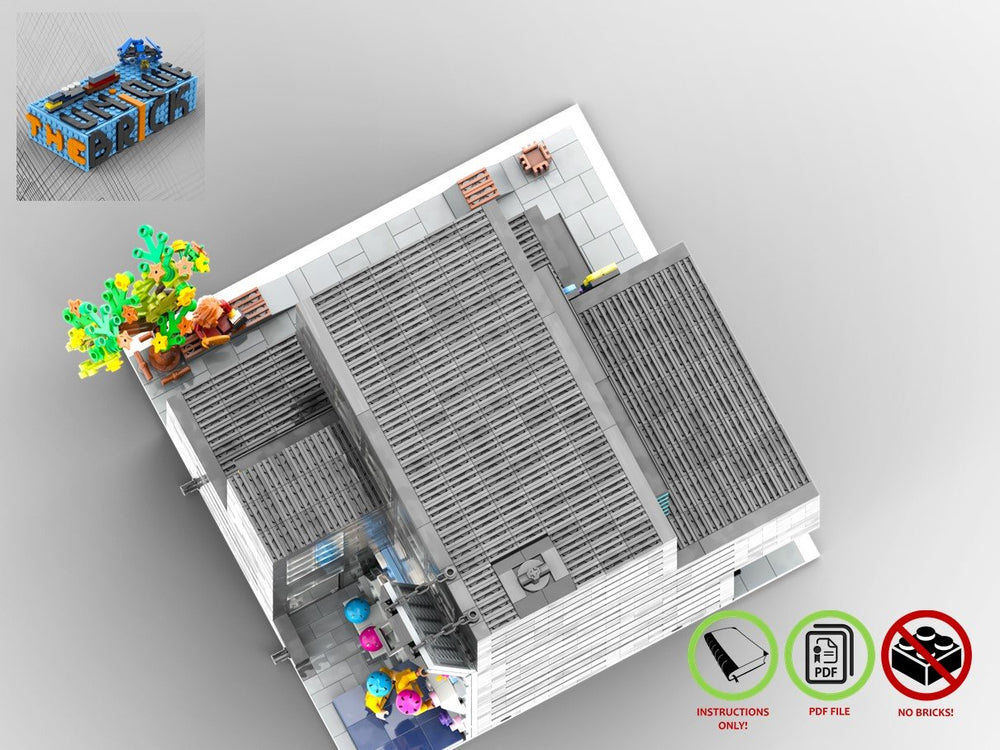 Load image into Gallery viewer, LEGO-MOC - Modular Fitness Studio - The Unique Brick