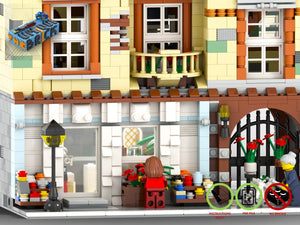 Load image into Gallery viewer, LEGO-MOC - Modular Florist - The Unique Brick