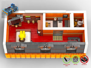 Load image into Gallery viewer, LEGO-MOC - Modular Ice Cream Store - The Unique Brick