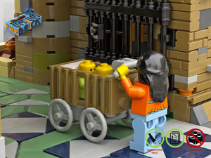 Load image into Gallery viewer, LEGO-MOC - Modular Park Passage - The Unique Brick