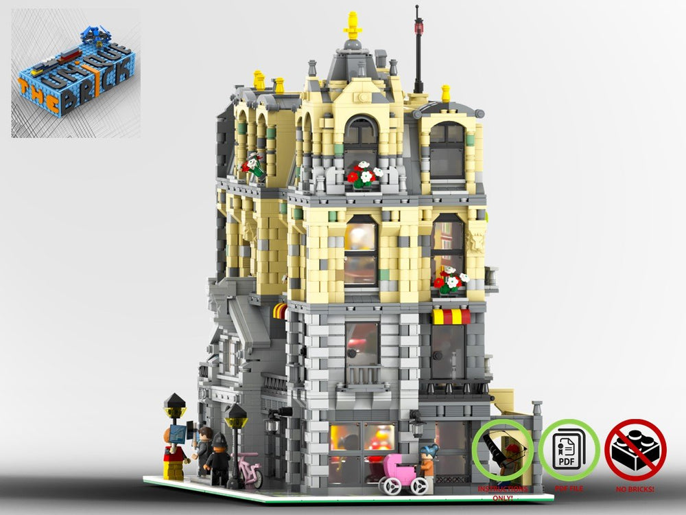 LEGO-MOC - Modular Town Hall - The Unique Brick