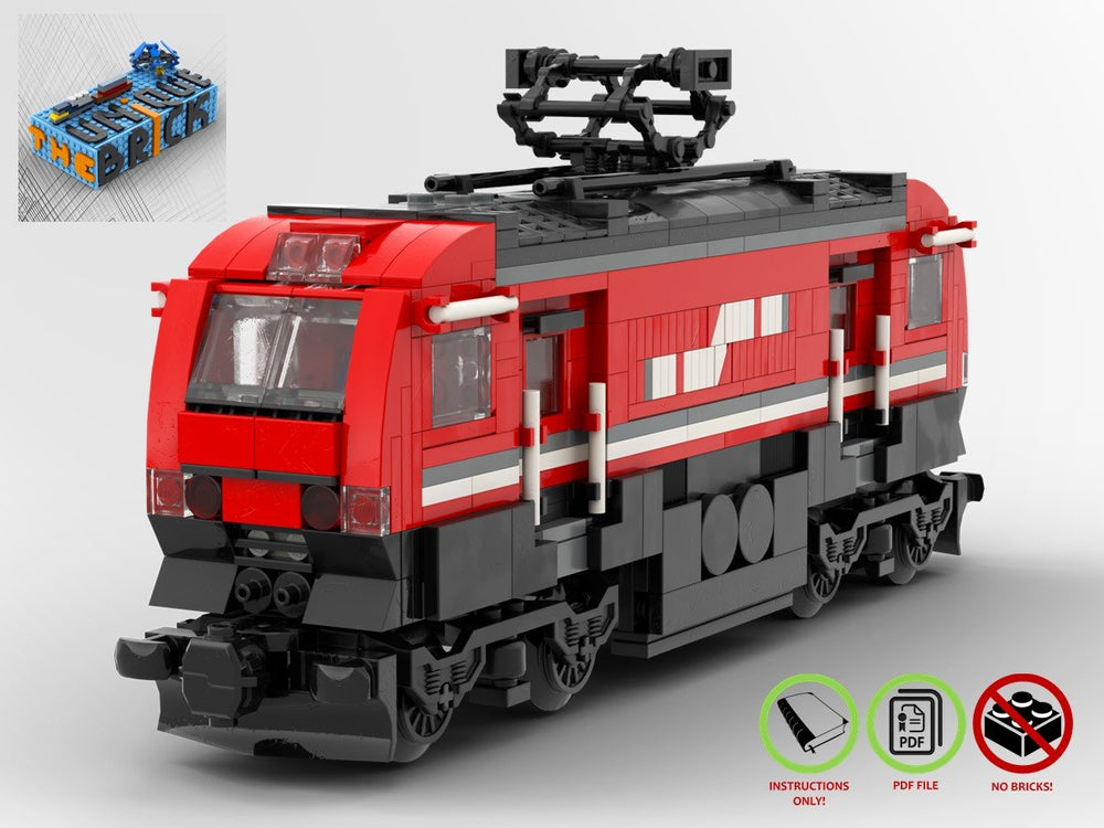 Load image into Gallery viewer, LEGO-MOC - Passenger Train - The Unique Brick