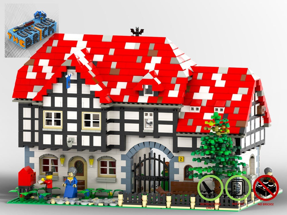 Load image into Gallery viewer, LEGO-MOC - Silver Pot Inn - The Unique Brick