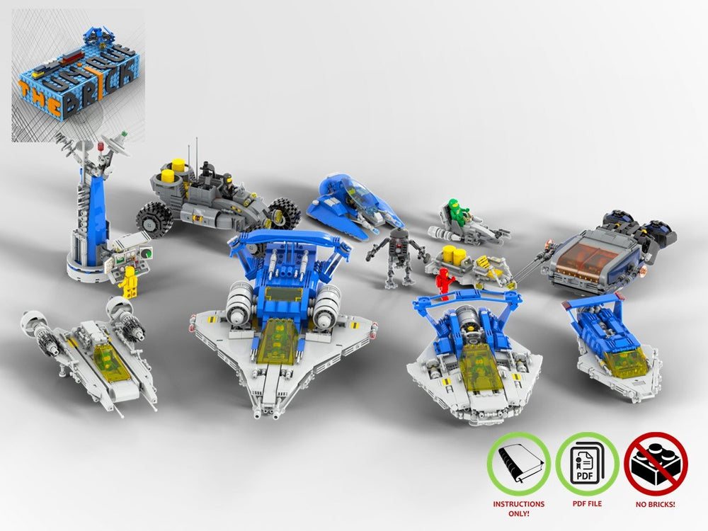 LEGO-MOC - Space Models Collection - The Unique Brick