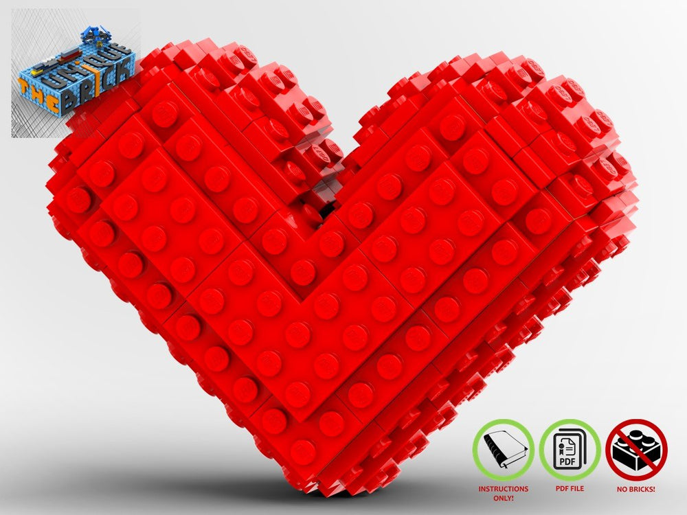 LEGO-MOC - Still Heart - The Unique Brick